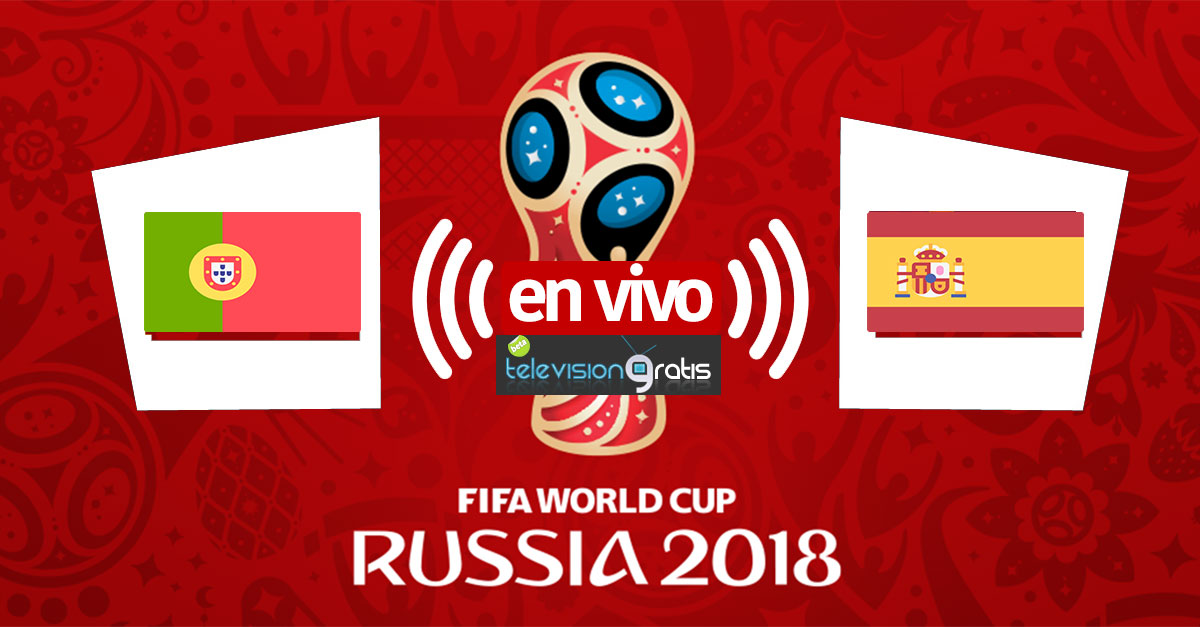 Portugal vs España en vivo