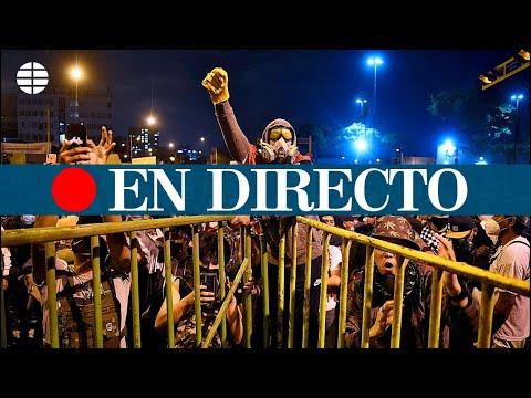 Protestas EN VIVO en los exteriores del Congreso de Perú