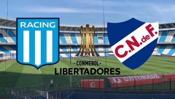 Racing vs Nacional - Copa Libertadores