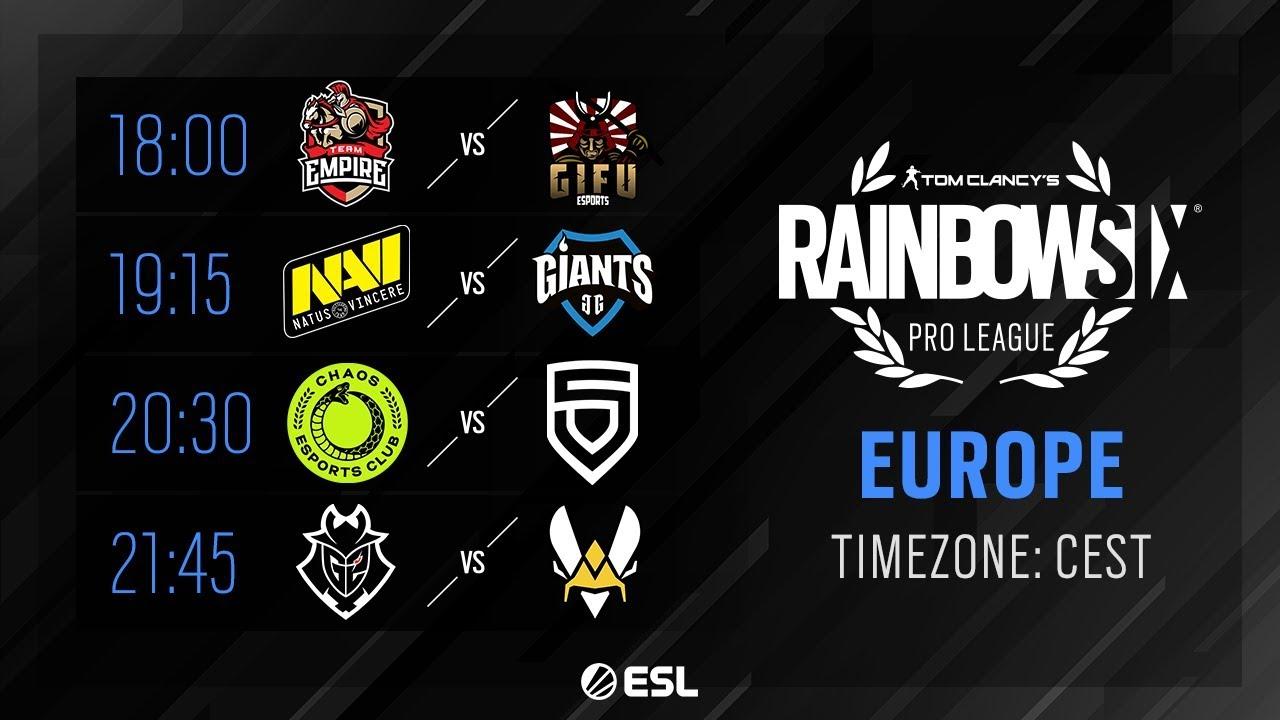Rainbow Six Pro League EN VIVO