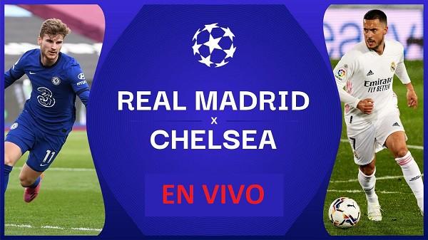 Real Madrid vs Chelsea EN VIVO - Champions League