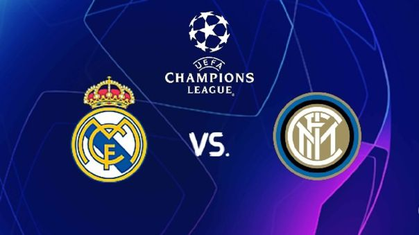 Real Madrid vs Inter - Champions League EN VIVO