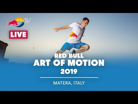 Red Bull Art of Motion Finales de Freerunning EN VIVO | Matera, Italia