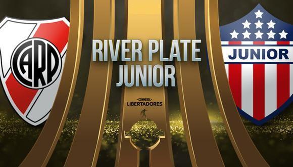 River vs Junior EN VIVO - Copa Libertadores