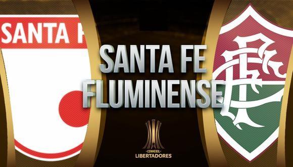 Santa Fe vs Fluminense EN VIVO - Copa Libertadores
