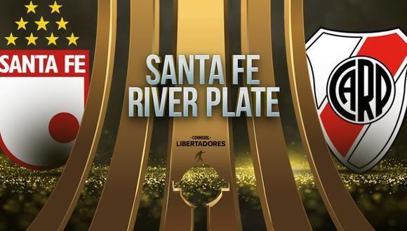 Santa Fe vs River Plate EN VIVO - Copa Libertadores
