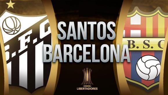 Santos vs Barcelona SC EN VIVO - Copa Libertadores EN DIRECTO