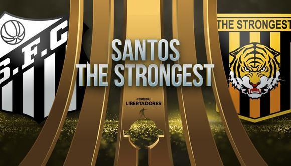 Santos vs The Strongest EN VIVO - Copa Libertadores