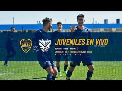 Semifinal de la Superliga Juvenil | Boca vs. Velez EN VIVO