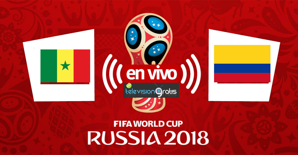 Senegal vs Colombia en vivo