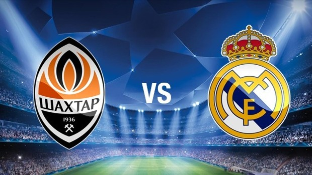 Shakhtar Donetsk vs Real Madrid - Champions League EN VIVO