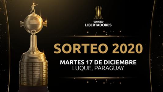 SORTEO COPA LIBERTADORES 2020 EN VIVO