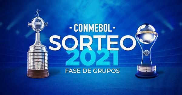 Sorteo de la Fase de Grupos de la Libertadores y Sudamericana EN VIVO