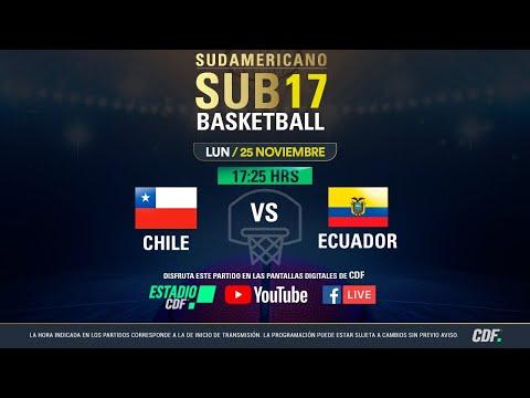 Sudamericano de Basquetbol Sub 17 EN VIVO