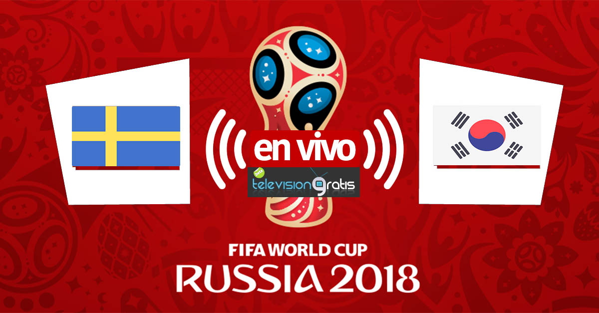Suecia vs Corea en vivo