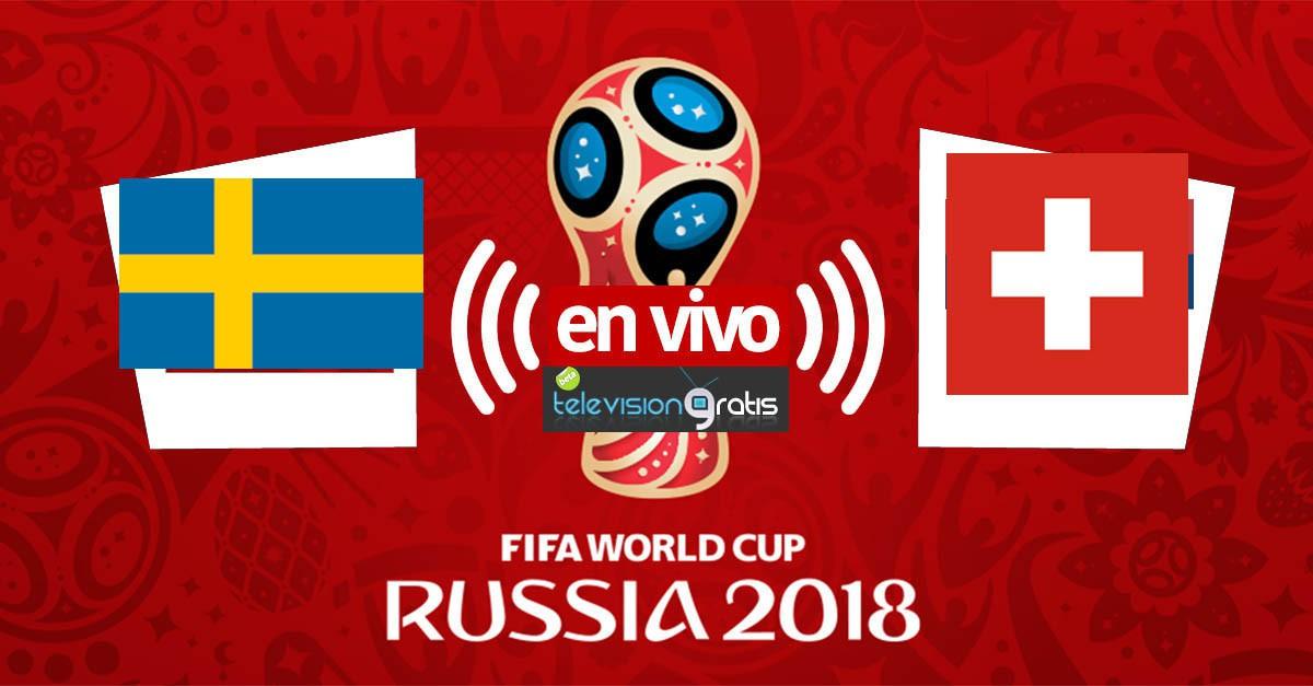 Suecia vs Suiza En Vivo - Octavos de Final - Rusia 2018