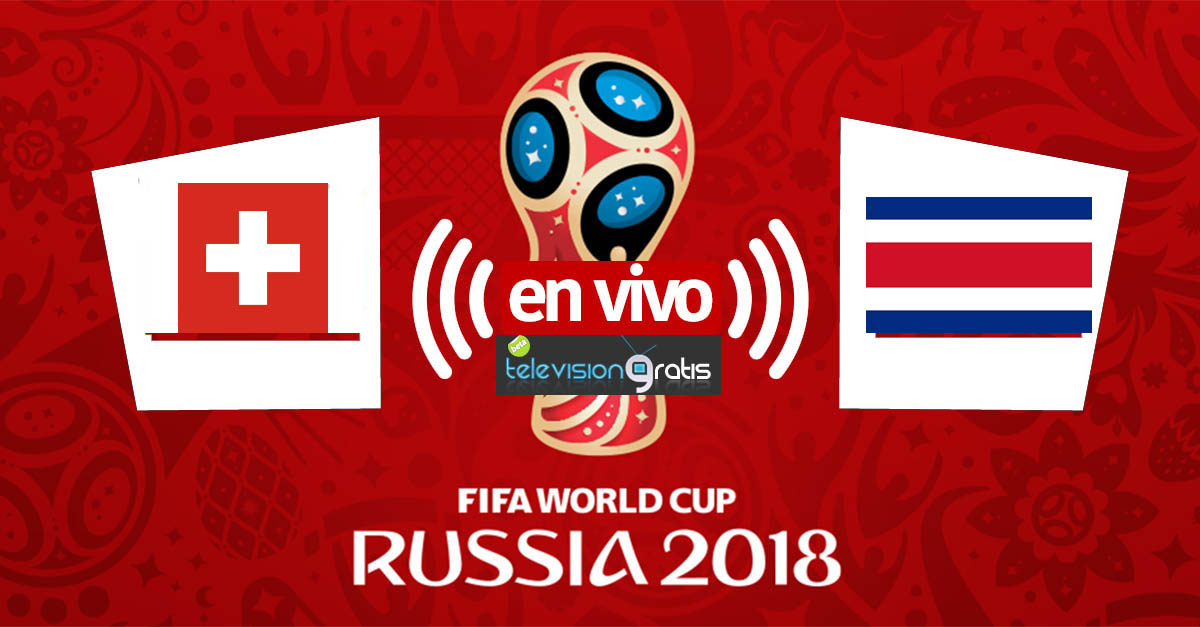 Suiza vs Costa Rica en vivo