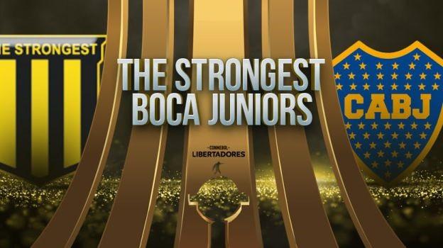The Strongest vs Boca Juniors EN VIVO - Copa Libertadores
