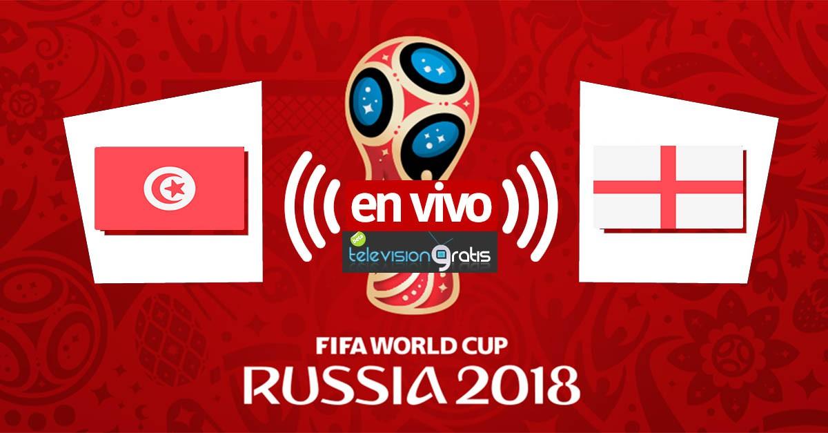 Túnez vs Inglaterra en vivo