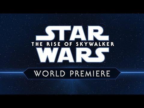 Transmisión En Vivo de la Premiere Mundial de Star Wars: El Ascenso De Skywalker