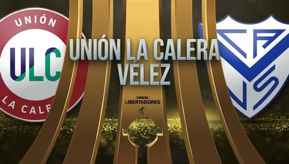 U. La Calera vs Vélez EN VIVO - Copa Libertadores