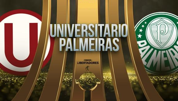 Universitario vs Palmeiras EN VIVO - Copa Libertadores