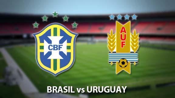 Uruguay vs Brasil - EN VIVO - Eliminatorias Qatar 2022