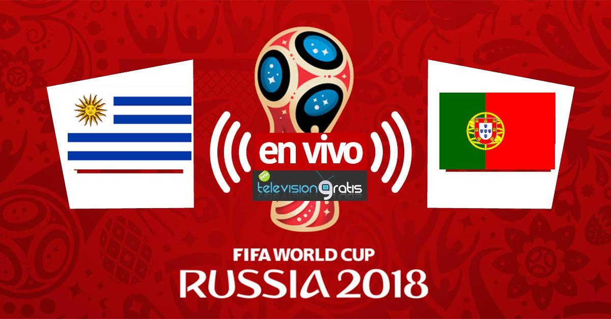 Uruguay vs Portugal En Vivo - Octavos de Final - Rusia 2018