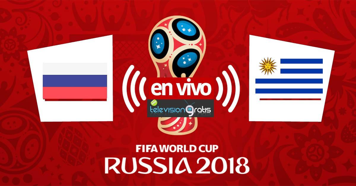 Uruguay vs Rusia en vivo