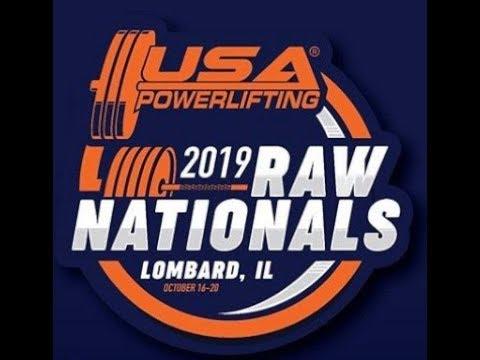 USA Powerlifting Raw Nationals EN VIVO