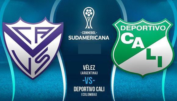 Velez vs Deportivo Cali EN VIVO - Ver la Copa Sudamericana