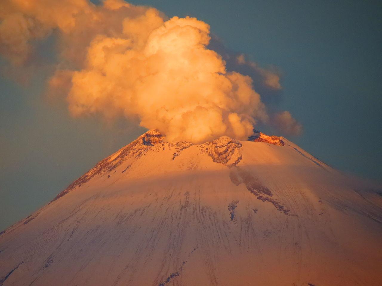 Volcán Popocatépetl en Vivo